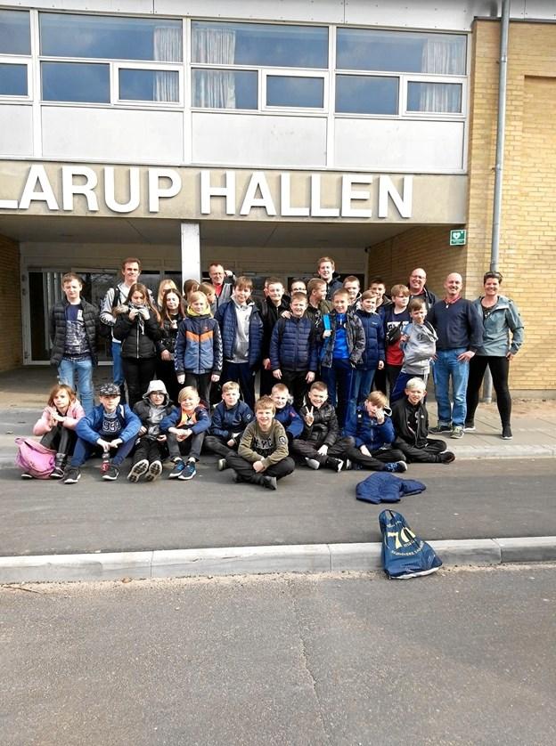 De havde en rigtig god tur sportsligt og socialt deltagerne fra Skagen Håndboldklub.