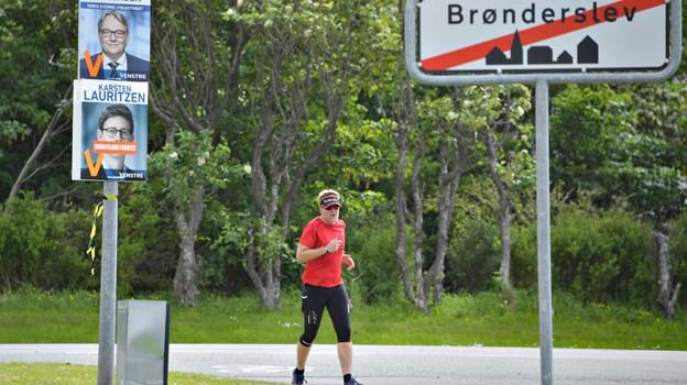 Betalingen fra løbets deltagere går til at støtte demensvenner.Foto: Claus Søndberg Claus Søndberg