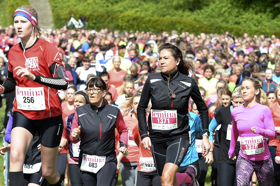 Grundlovsdag arrangerer Femina kvindekøb med start og mål i Mølleparken. Arkivfoto: Michael Bygballe