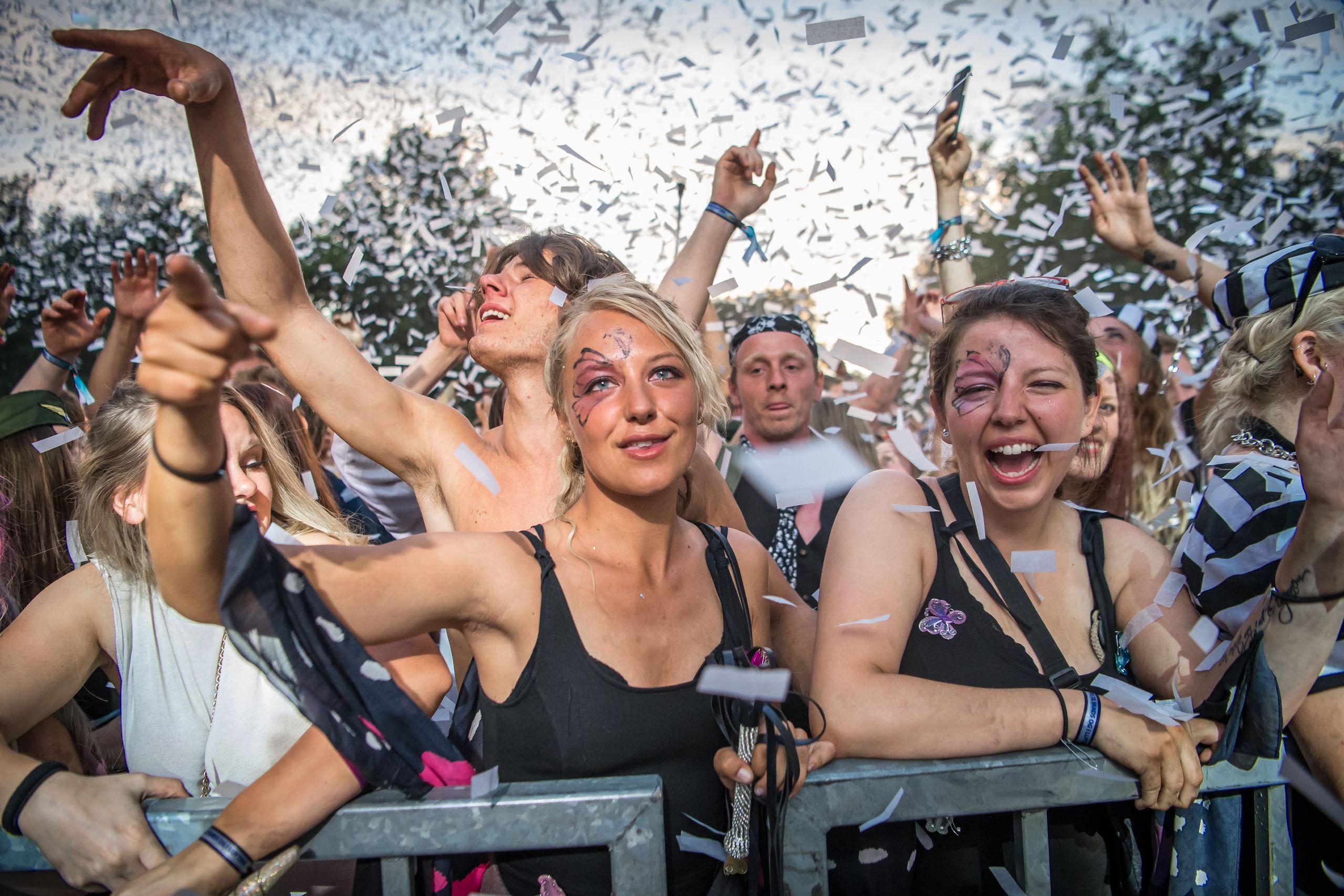 Festen i forbindelse med karnevalet i maj har udsigt til at overgå sig selv - i hvert fald er der linet et stærkt musikprogram op. Arkivfoto: Martin Damgård