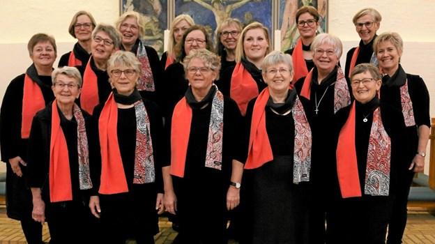 Arden Kirkes Voksenkor giver koncert i Kulturhuset på fredag. Foto: Privat