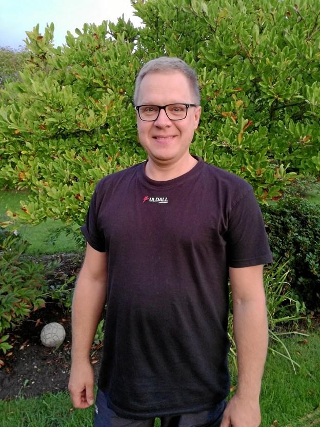 Csaba Becher fik hjælp af TUBA i Hobro og føler sig i dag som en velfungerende familiefar. Privatfoto