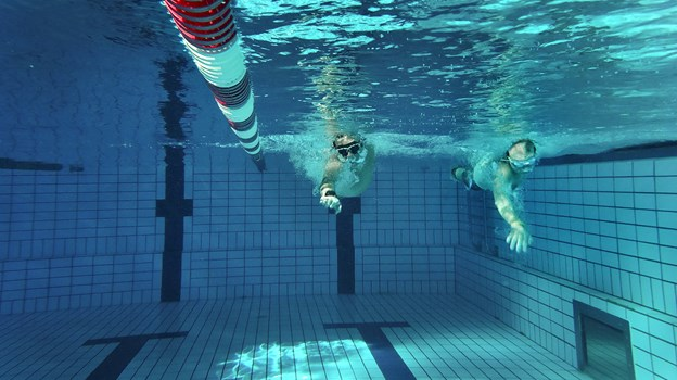 12 timer i vandet er bare en lille smagsprøve på det, der venter forude. Hans Ravn