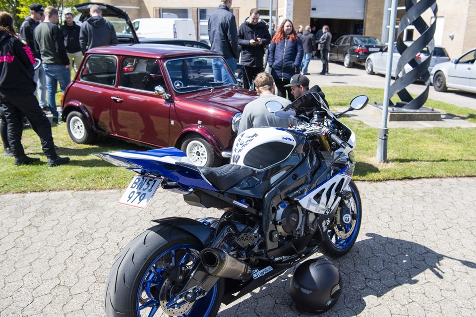 Også de tohjulede fartvindundere var repræsenteret. Foto: Kim Dahl Hansen Foto: Kim Dahl Hansen