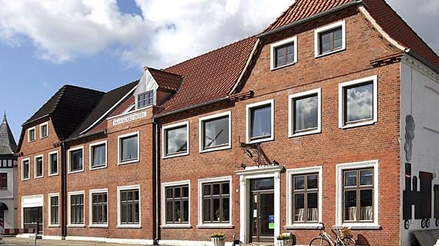 Der er valgmøde her på Skovsgård Hotel.  Arkivfoto