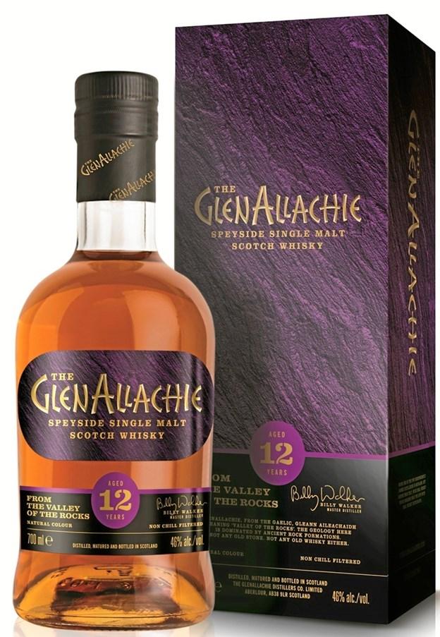 """Her er så den """"nye"""" 12 år gamle single malt whisky fra GlenAllachie i Skotland, og på fredag giver vinhandleren en smagsprøve helt gratis. Privatfoto"""