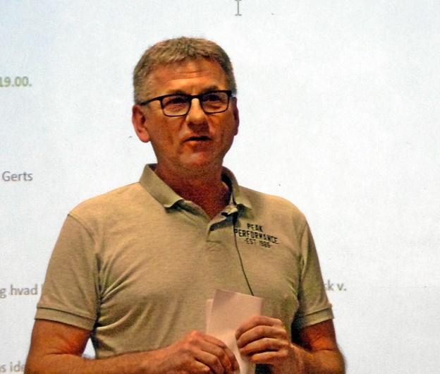 eSport er på trapperne oplyste formand for Als Sport & Event, Jan Gerts på foreningens første ordinære generalforsamling. Foto: Ejlif Rasmussen