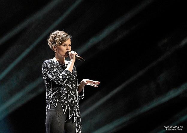 Stine Bramsen er det første i det stærkeste musikprogram i Thisted Musikteater nogensinde. Hun og band spiller 15. februar. Foto: Kornum Foto. Foto: Ole Iversen
