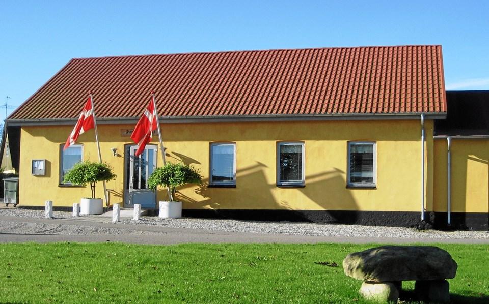 Det er i Vester Tørslev Kultur- og Forsamlingshus, der går løs med julebanko 5. december. Privatfoto
