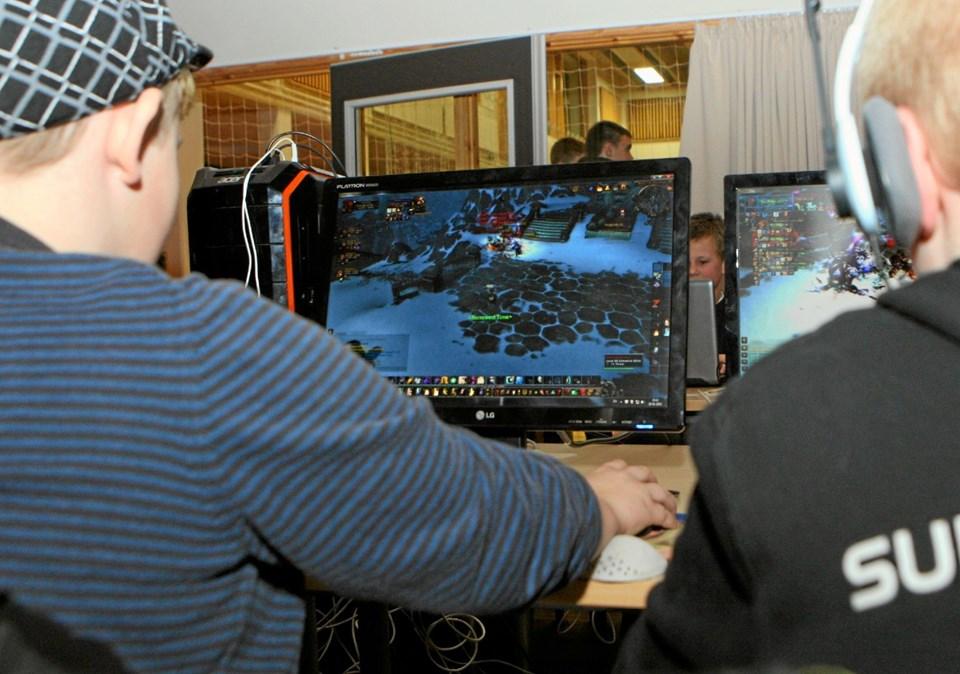 VHG e-sport inviterer 14. januar til åbent hus i foreningens lokaler på Vester Hassing Skole. Foto: Allan Mortensen