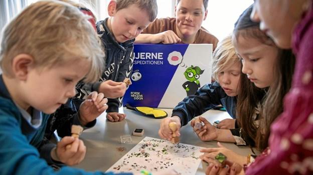 Måske pædagogen eller læreren også kan lære noget?Foto: Søren Kjeldgaard Søren Kjeldgaard