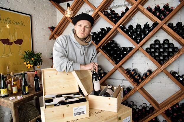 Karl-Emil Sams er trods sine kun 27 år en vinkender af de bedst uddannede i Danmark. Foto: Peter Broen. Peter Broen