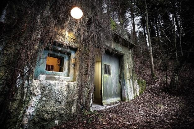 Regan Vest er indrettet 60 meter under jorden. Arkivfoto: Torben Hansen