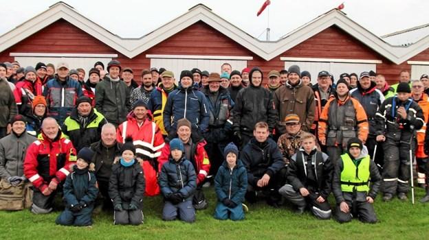 89 Friske fiskere klar til at tage på fjorden efter sild. Flemming Dahl Jensen