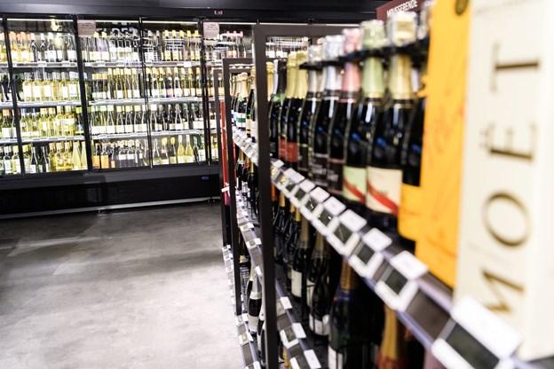 En ny vinafdeling er også kommet til.