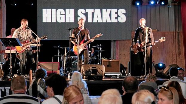 High Takes spillede op til fest ved havnefesten i Ålbæk. Foto: Peter Jørgensen Peter Jørgensen