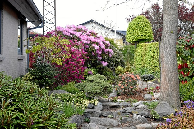 I Haldbjerg bydes der inden for i denne skønne have