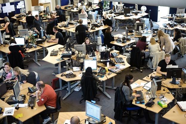Der er flere i arbejde i Aalborg end nogensinde.Arkivfoto: Henrik Bo