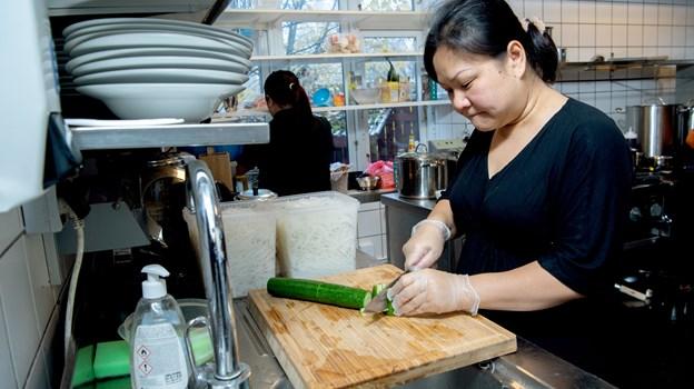 Pho Saigon er både restaurant og takeaway. Foto: Lars Pauli