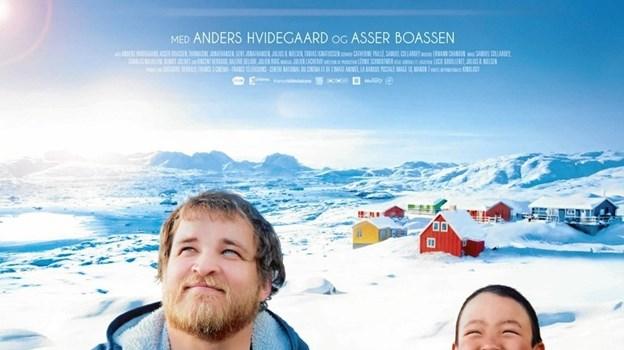 Filmen handler om Anders som bliver skolelærer i en fjernt beliggende flække på Grønland. Foto: privat.