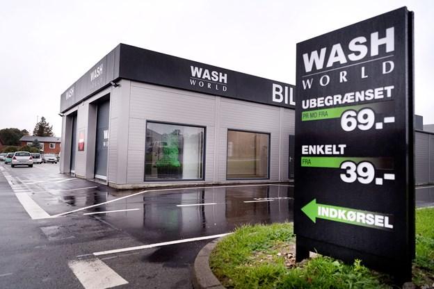 Den landsdækkende bilvaskekæde Wash World har nu etableret sig med to vaskehaller i Aalborg, og det nyeste skud på stammen er i Skalborg.