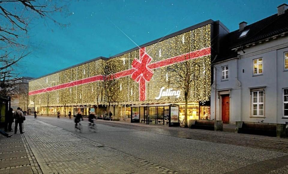 5292d761fbe Salling: Pakket ind i en halv million lys | Nordjyske.dk