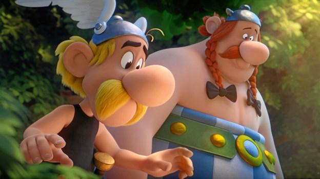 Asterix og Obelix - ikke til at skyde igennem.