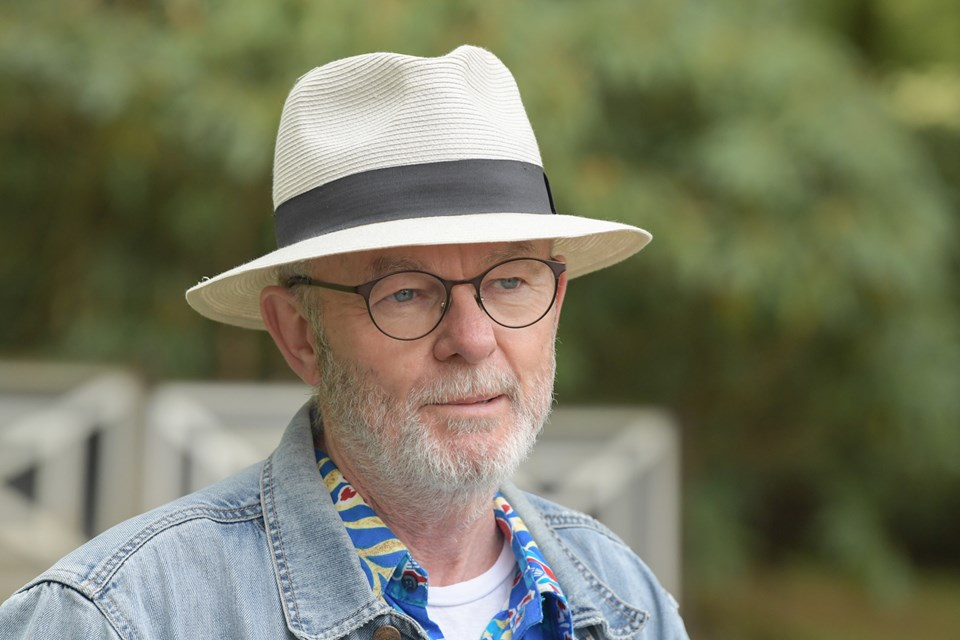 Konferencier Ole Frandsen. Foto: Henrik Louis HENRIK LOUIS