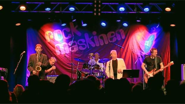 Rockmaskinen gæster Skovsgaard Hotel.Pressefoto