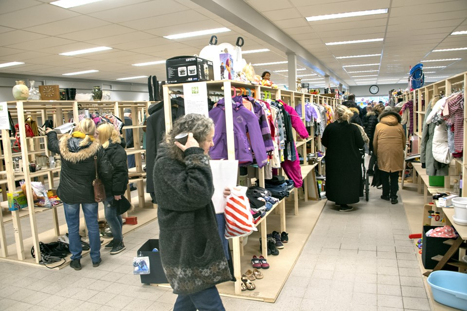 En ny Guld & Rod åbnede torsdag i Brønderslev, og interessen var stor. Foto: Kurt Bering Kurt Bering