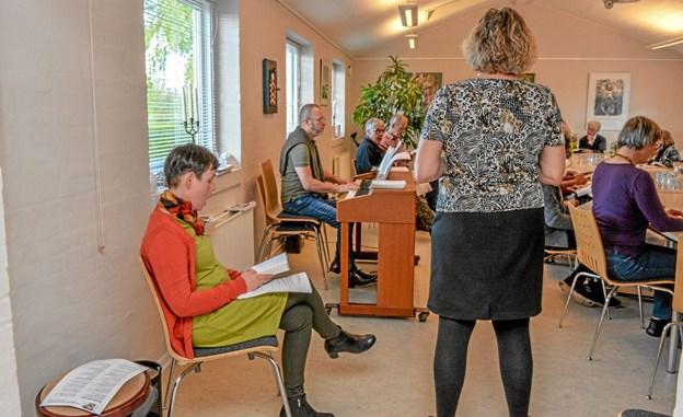Glad musik og finurlige tekster fra en meget speciel person, som Benny Andersen også var. Foto: Mogens Lynge Mogens Lynge