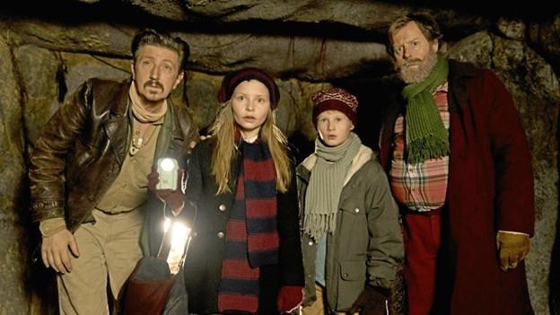 Lucia er Julemandens Datter.Pressefoto