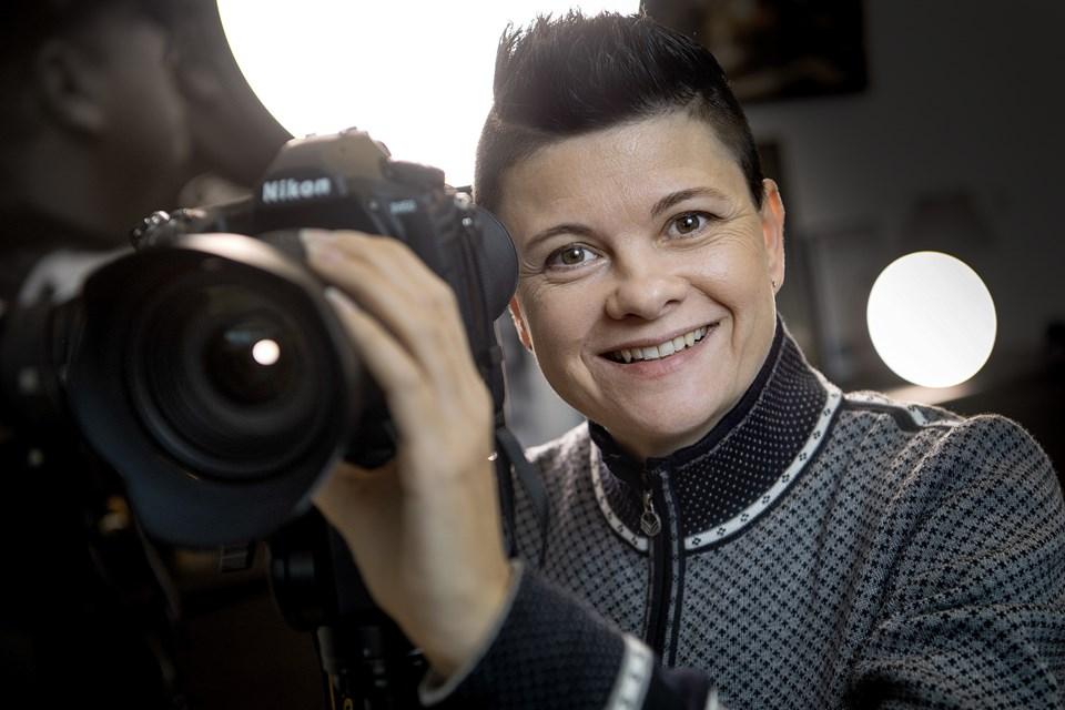 - Alle firmaer har jo egen hjemmeside nu om dage. Men faste billeder og tekst rækker ikke. Der skal lyd og billede på hjemmesiden, siger Anja Schønwandt. © Lars Pauli