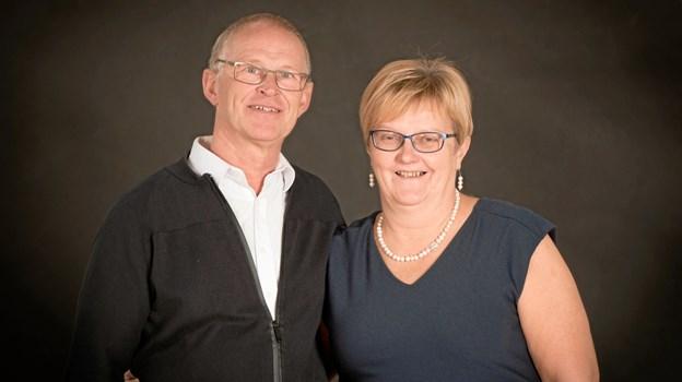 Ruth og Poul Nielsen kører kurserne