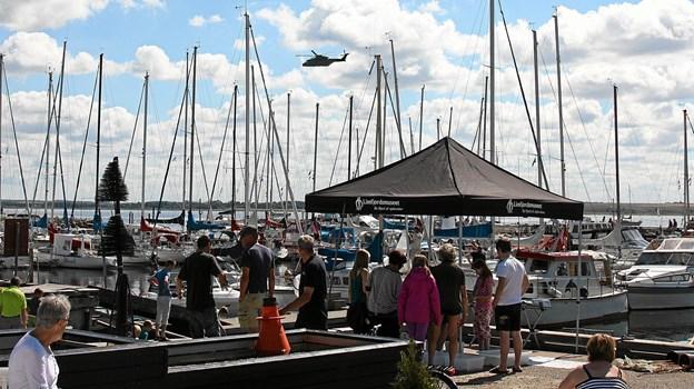 Der er som altid en række arrangementer på havnen på Gjøl. Det næste er 31. juli. Arkivfoto