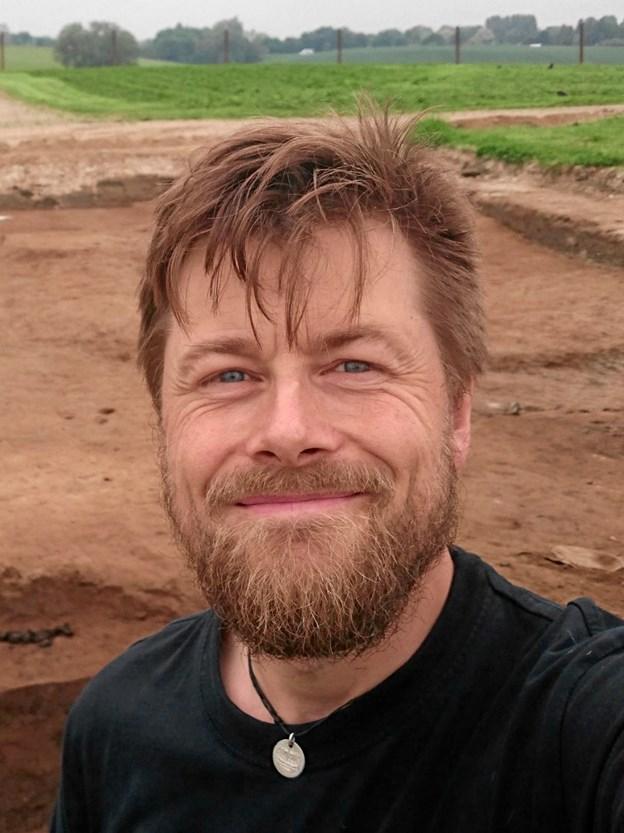 Professor Søren Sindbæk er en af Danmarks fremmeste vikingetidseksperter og vil til foredraget den 8. oktober fortælle om de nyeste tolkninger af Aggersborg og de andre danske ringeborges betydning. Privatfoto