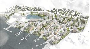 125 boliger på vej ved fjorden i Hobro: Nu er planen godkendt
