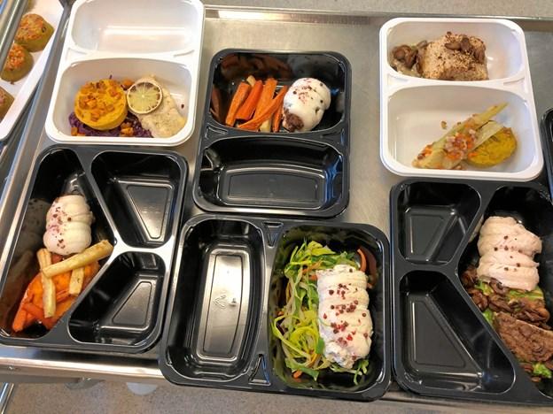 Eksempler på hvad inspirationen kan komme til at betyde for øens borgere, der får mad fra Skovparken. Foto: Morsø Kommune.