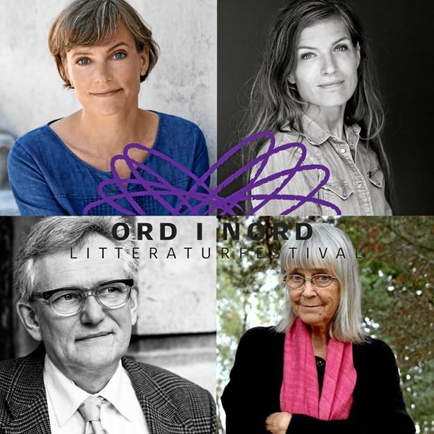 En buket af populære og aktuelle forfattere kan opleves på litteraturfestivalen i Skørping 2. februar. PR-foto