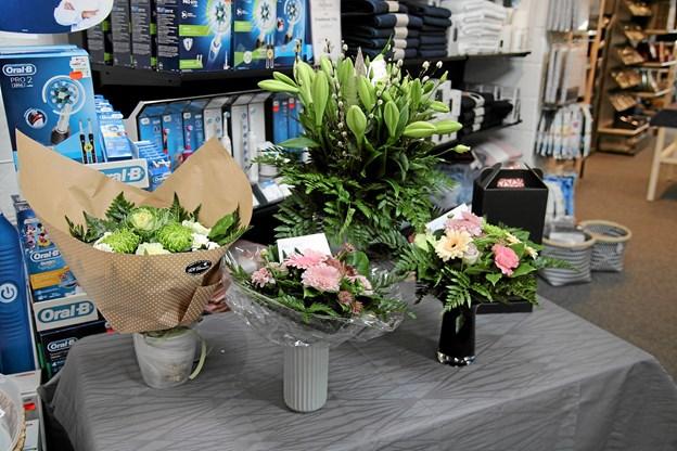 Der var også gaver til butikken. Foto: Flemming Dahl Jensen