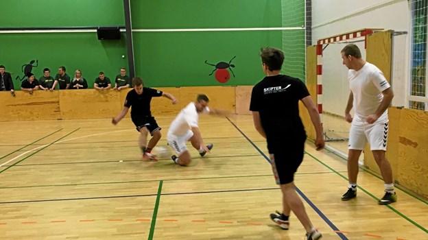 Selvom det vigtigste var at have det sjovt, blev der fightet og kæmpet. Foto: Jesper Bøss