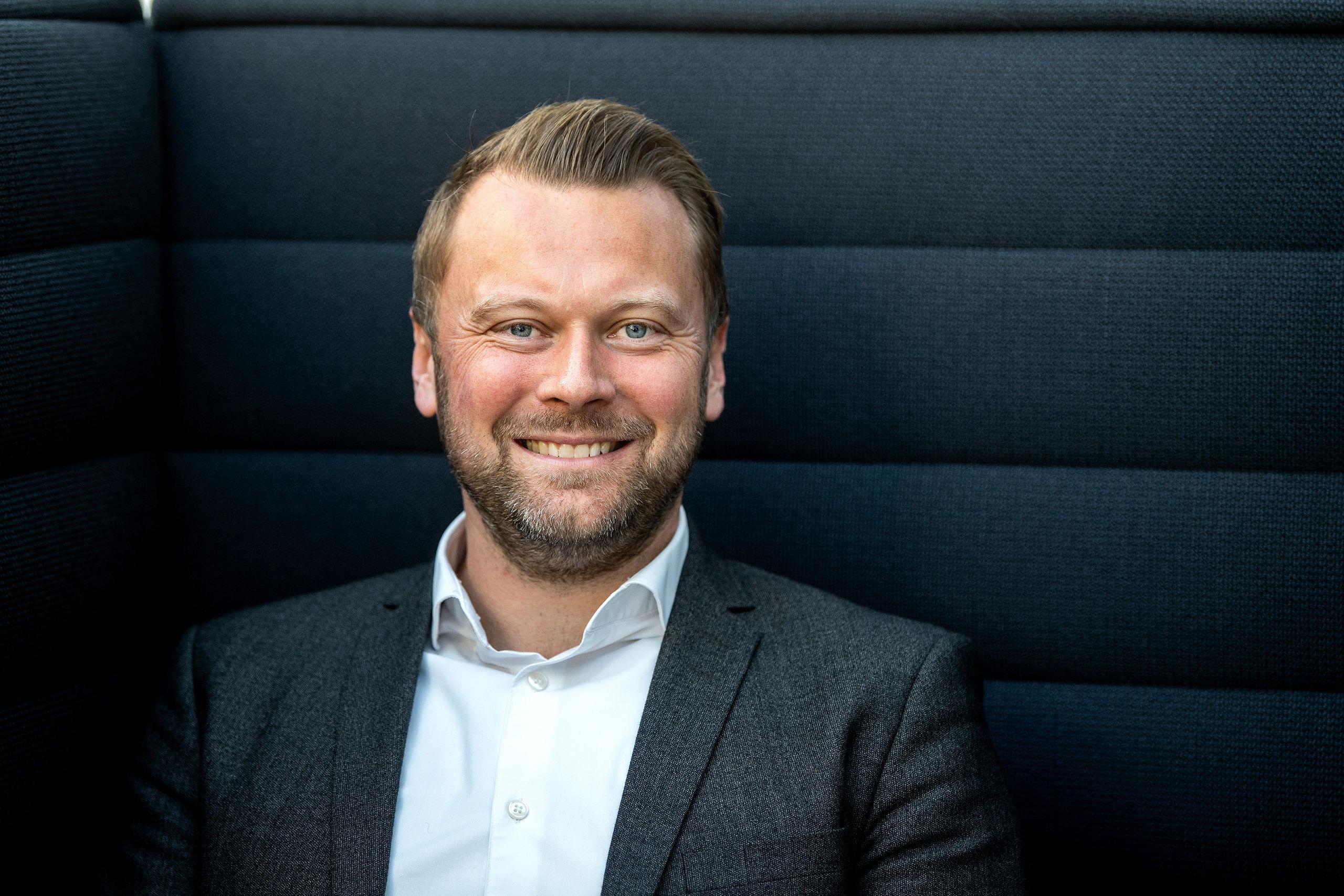 Lasse Rich Henning er netop udnævnt til Årets Leder i 2018. Arkivfoto: Laura Guldhammer