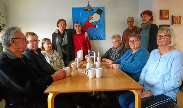 Der kommer gennemsnitligt 20 mennesker om dagen i SIND-Huset Nykøbing. Arkivfoto: Dorit Glintborg.