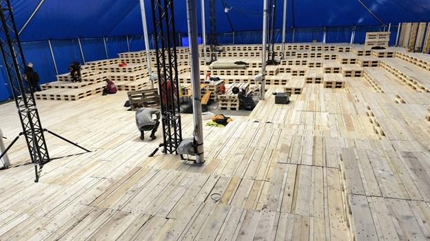 Antallet af scener ved Naturmødet vokset - en af de nye bliver Zenit.    Arkivfoto: Peter Broen Peter Broen