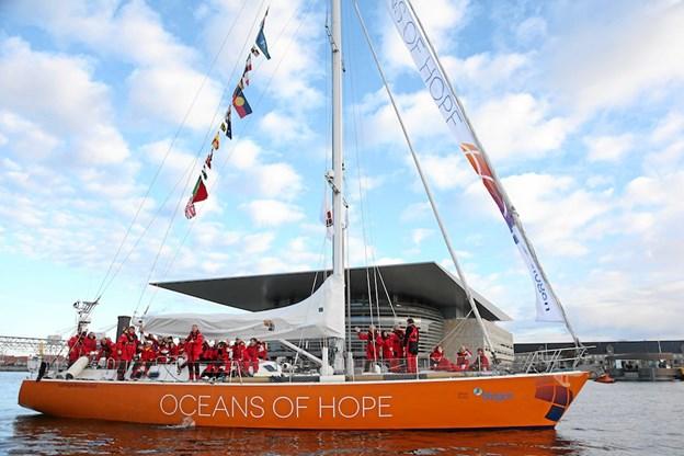 Oceans of Hope har til formål at gribe skleroseramte og hjælpe dem med at bibeholde troen på et godt liv og en meningsfyldt fremtid.