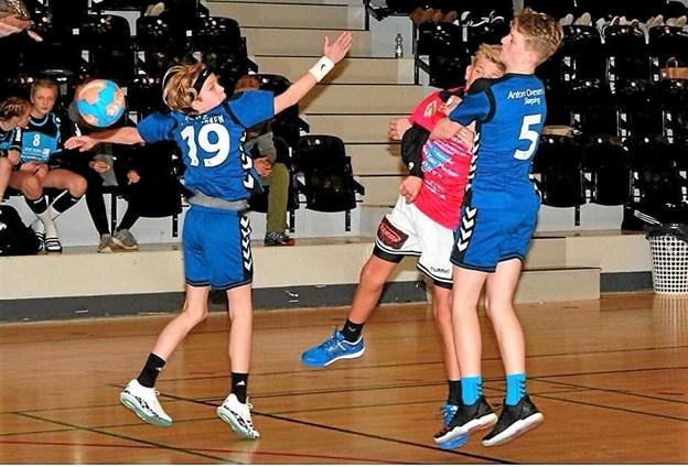 Håndboldafdelingen i IF Frem Skørping har det godt. Foto: Privat