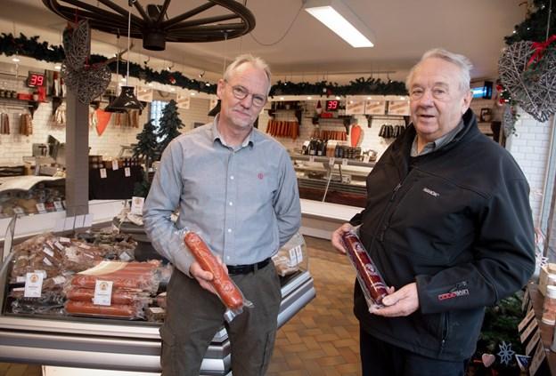 100 år med kød og pålæg: Populær slagterbutik har kun haft fire mestre