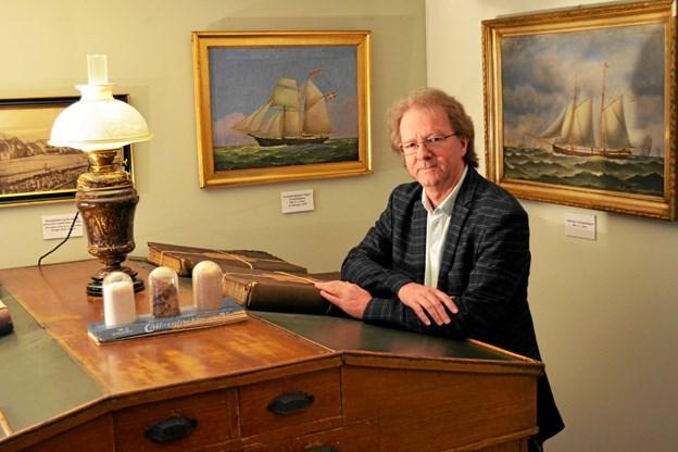 Tidligere museumsinspektør i Hals, Henrik Gjøde Nielsen, er ny direktør for Nordjyllands Kystmuseum. PR-foto