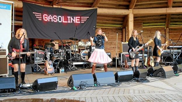 Den store scene blev allerede i juni taget i brug med en koncert med bl.a. Gasoline.30. august kommer Die Herren. Foto: Jørgen Ingvardsen Jørgen Ingvardsen