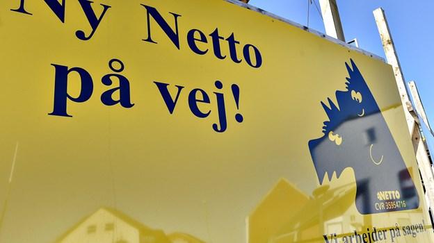 Der er ikke længe til, at Netto i Skalborg åbner. Arkivfoto: Bent Bach